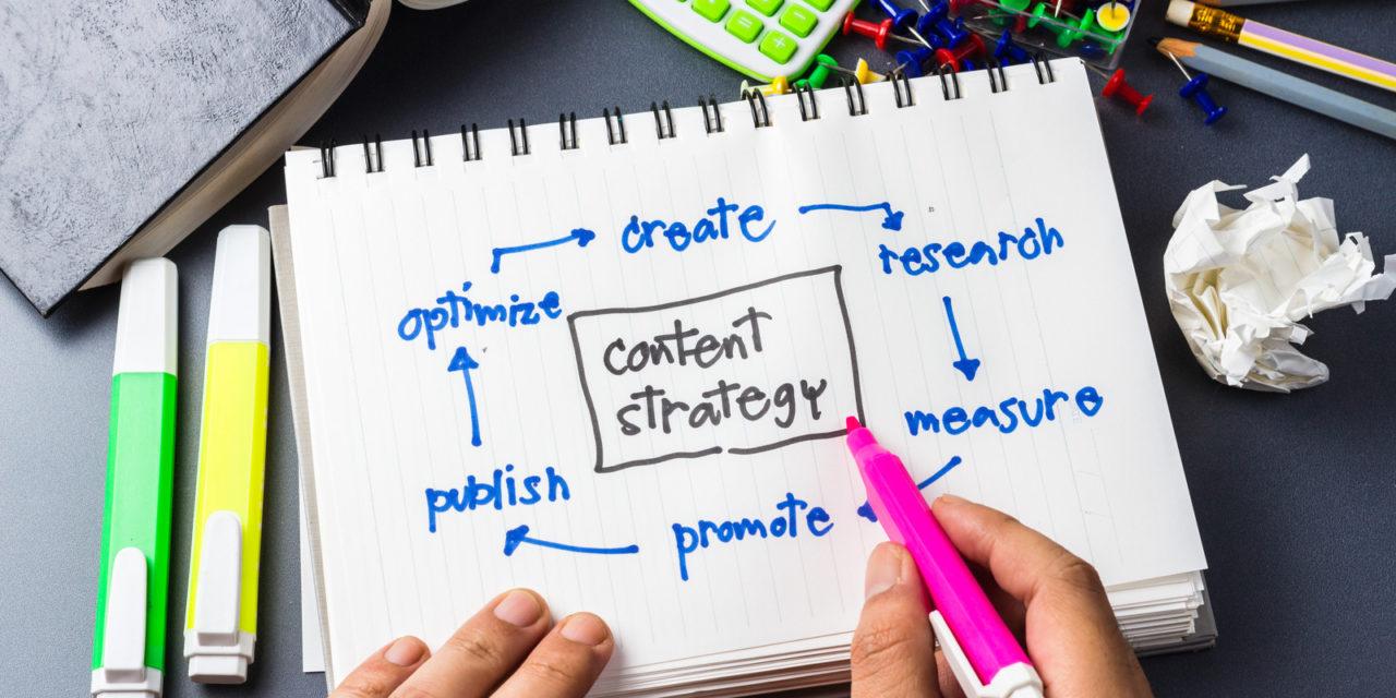Estratégias de marketing de conteúdo: 6 passos para implementá-las!